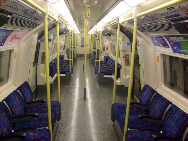 London underground 1995 stock for London underground moquette