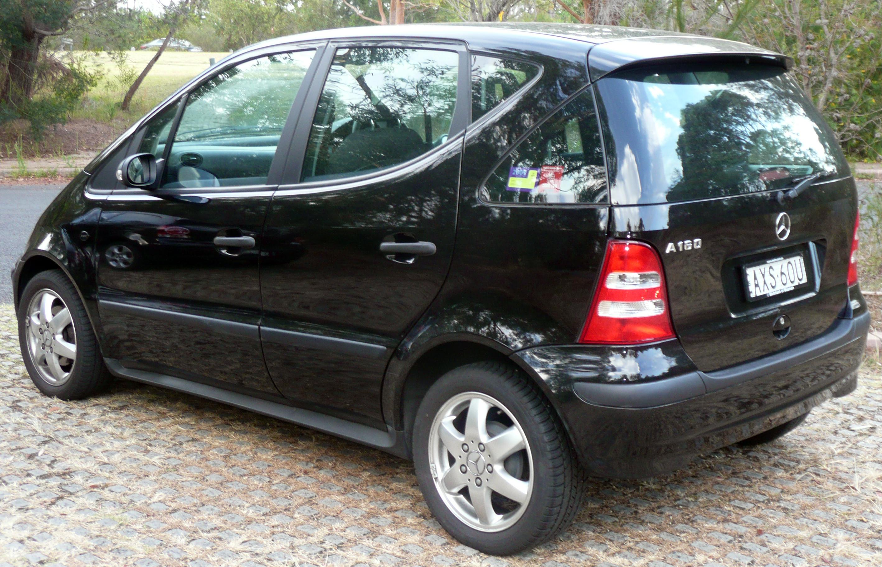 file 2003 2004 mercedes benz a 160 w 168 my03 5 classic hatchback 2009 01 15. Black Bedroom Furniture Sets. Home Design Ideas