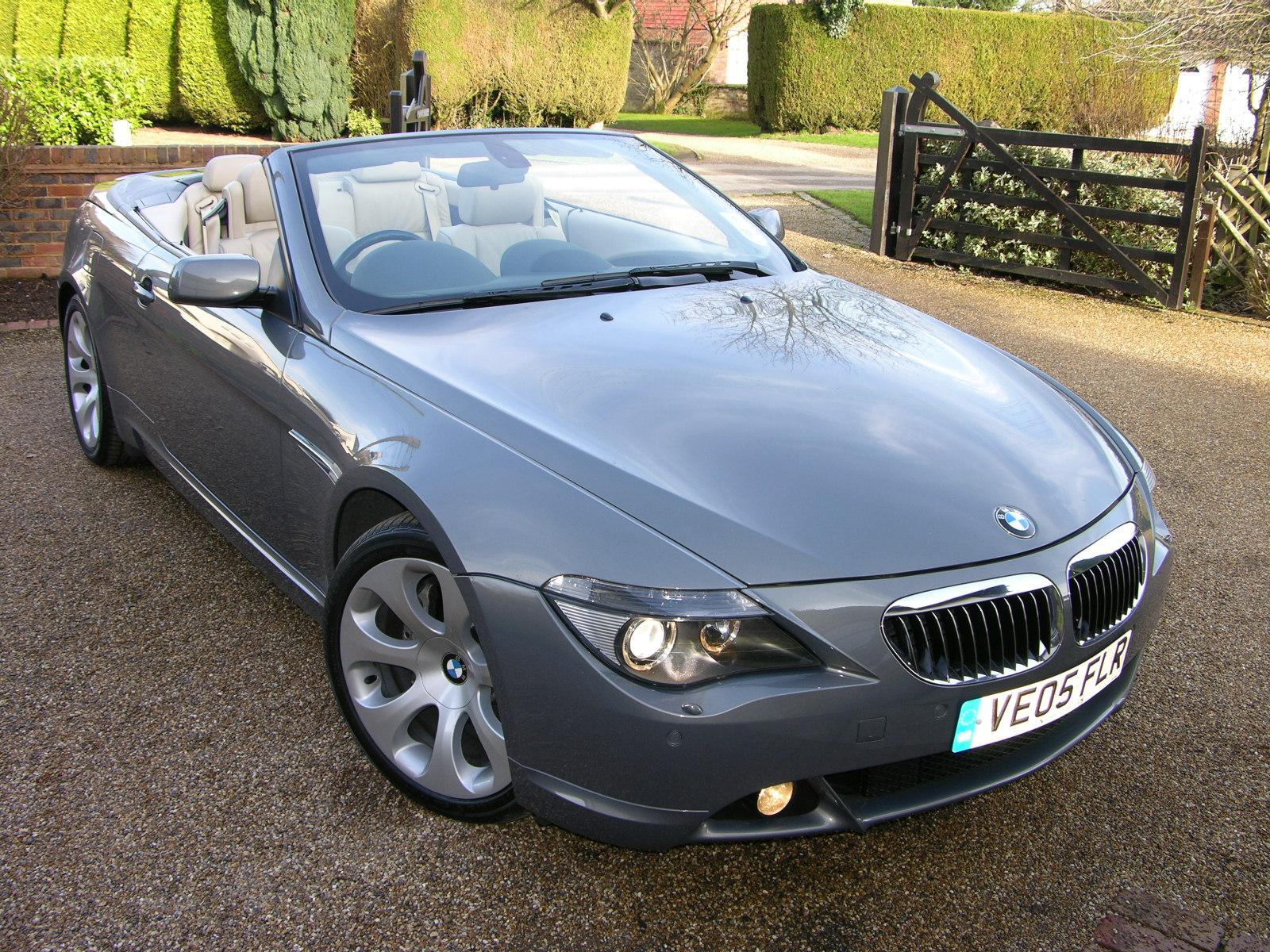File BMW Ci Cabriolet Flickr The Car Spy Jpg - Bmw 645 2005