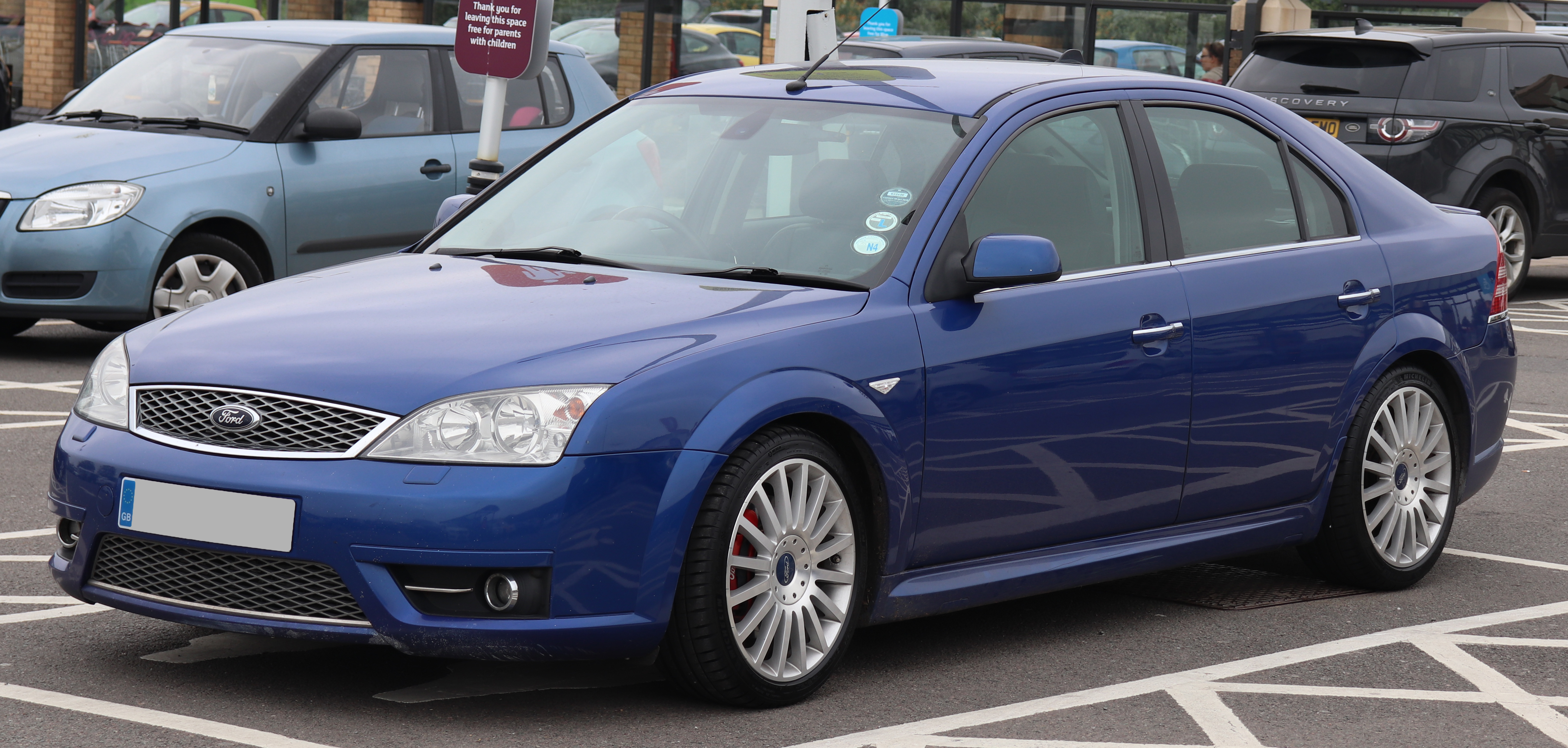 file 2006 ford mondeo st220 tdci wikimedia commons. Black Bedroom Furniture Sets. Home Design Ideas