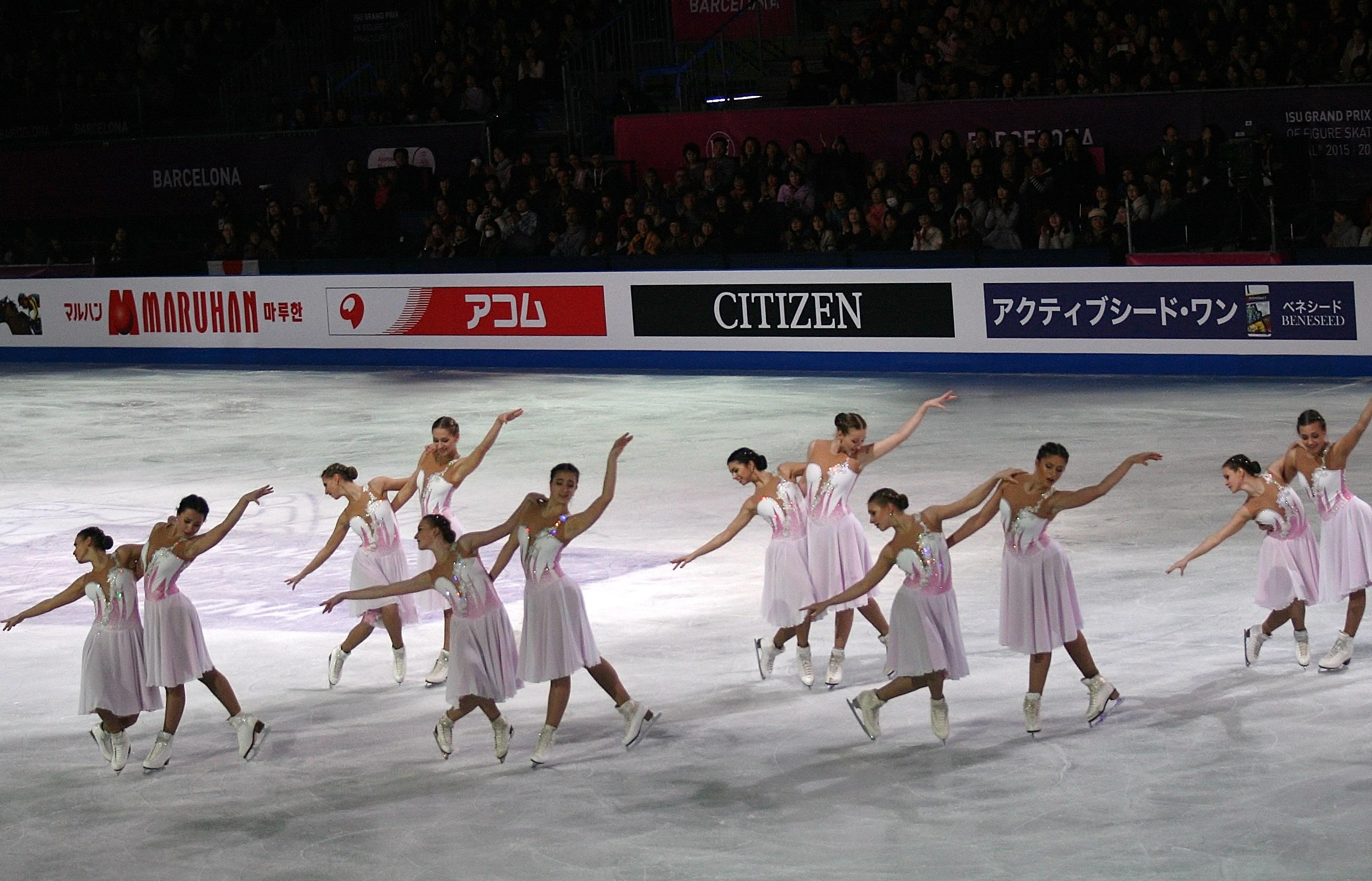 Synchronized skating - Wikipedia