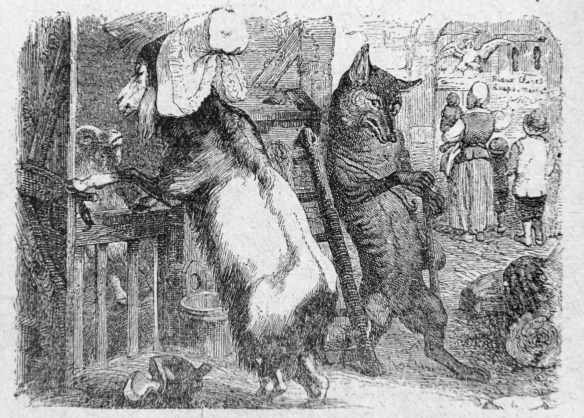 Le Loup La Chevre Et Le Chevreau Wikipedia