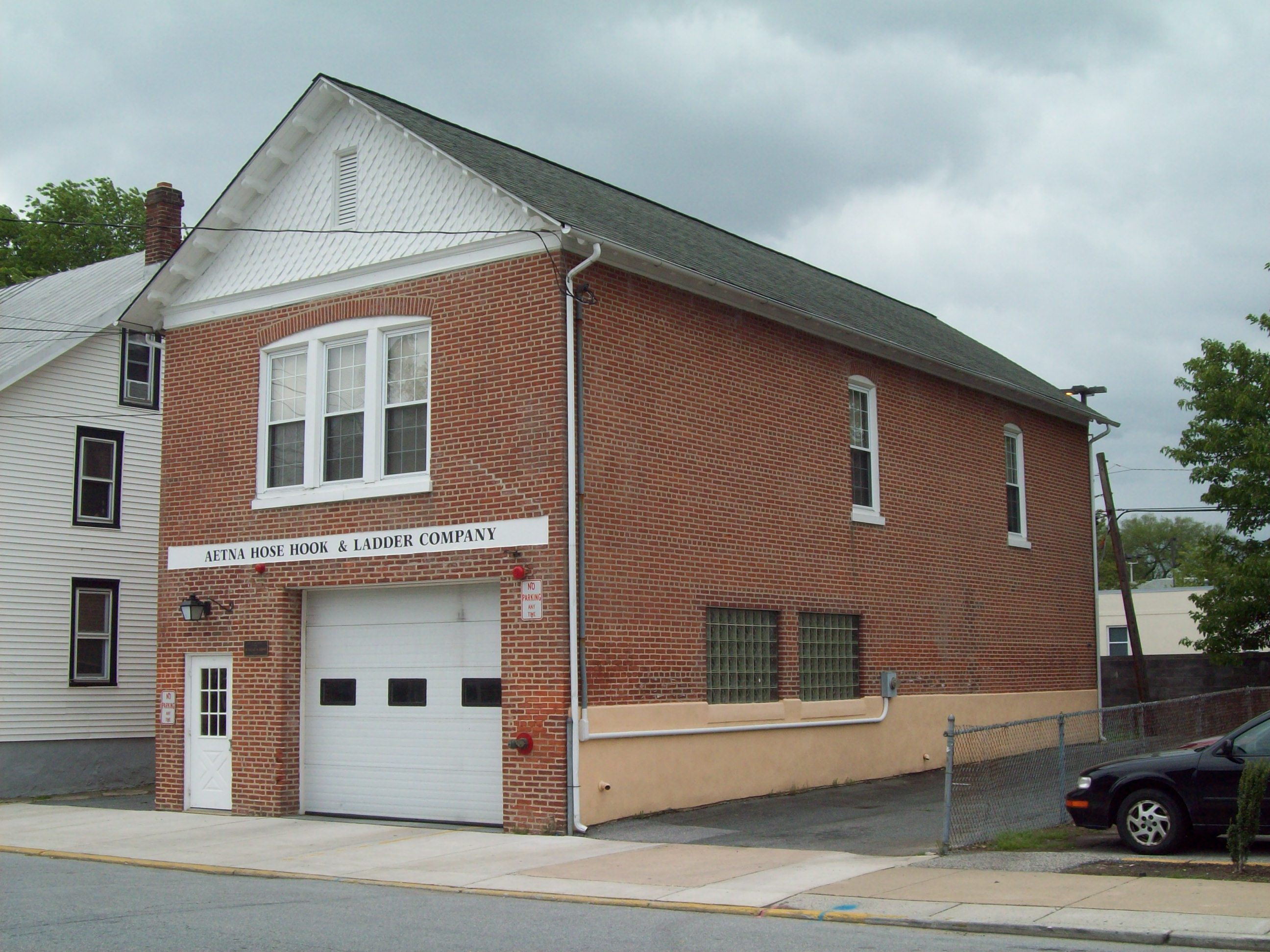 Aetna Hose, Hook and Ladder Company Fire Station No  1