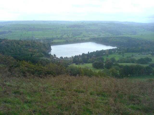 Agden Reservoir - geograph.org.uk - 326549