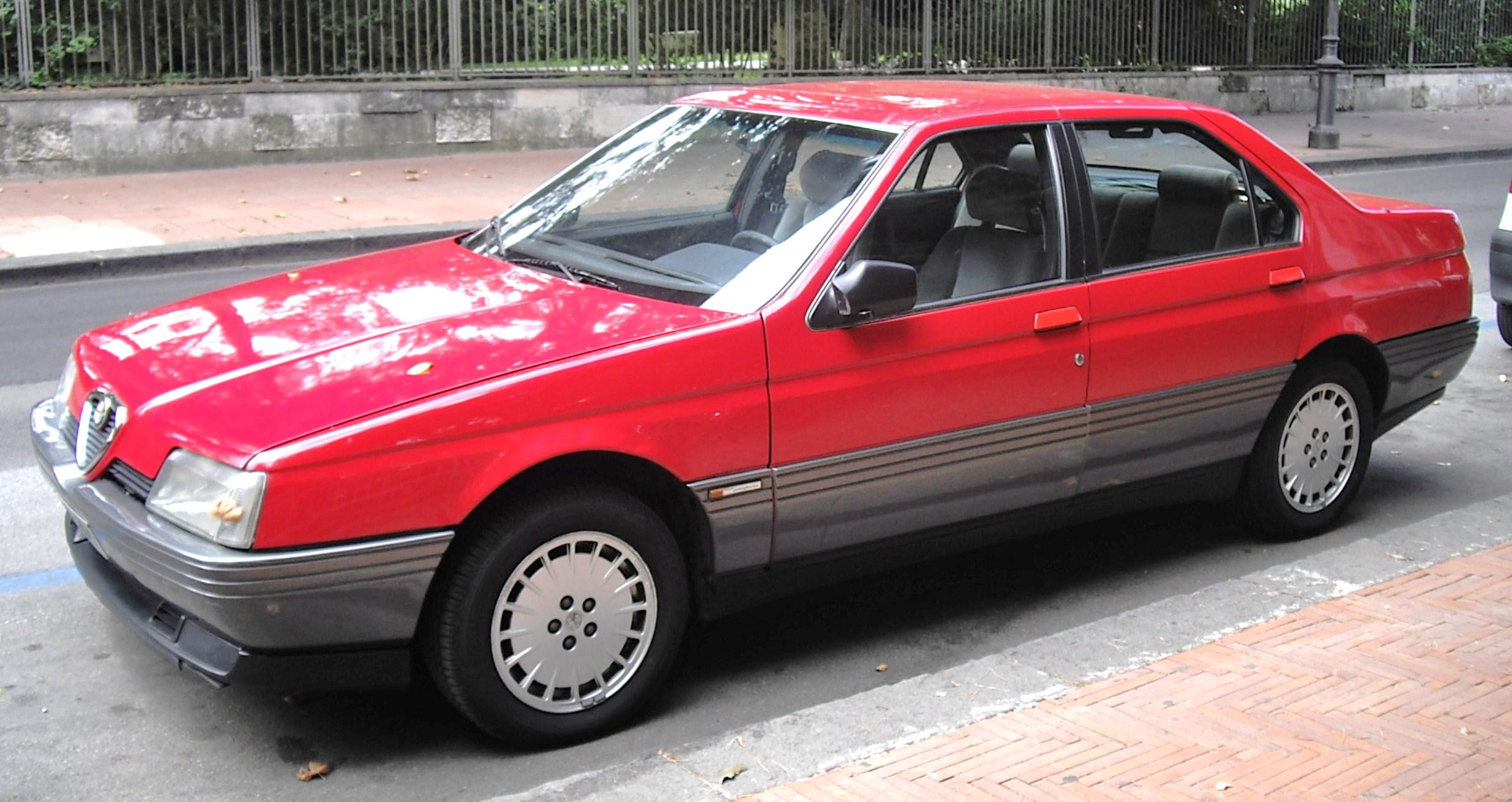 File Alfa Romeo 164 Turbo 3 Jpg Wikimedia Commons