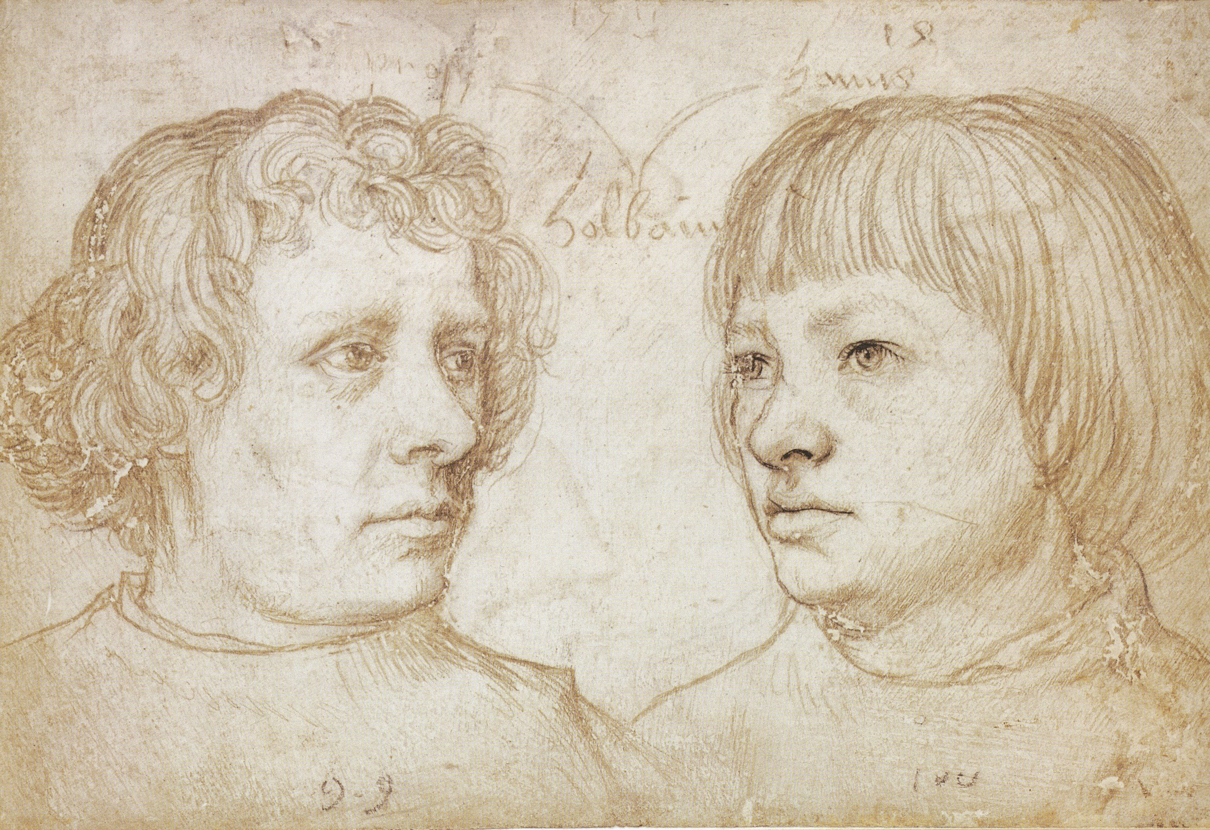 Ambrosius and Hans Holbein, by Hans Holbein the Elder