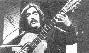 Ángel Parra en 1973.