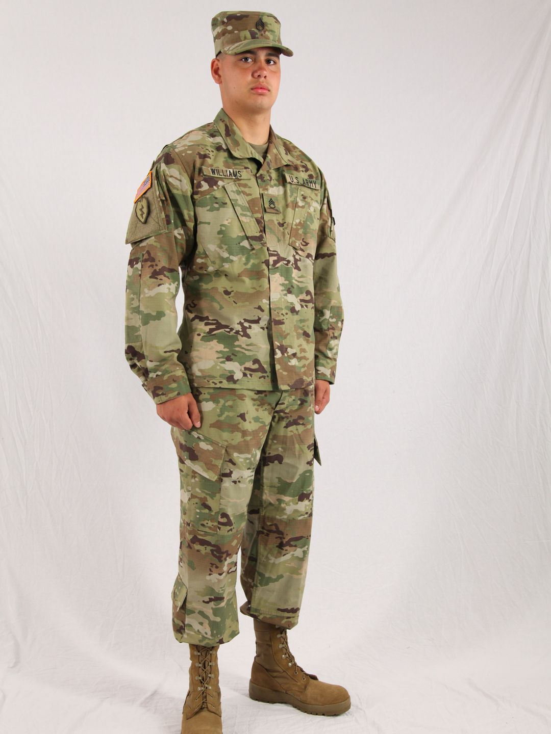 Wear Of Acu Uniform 117
