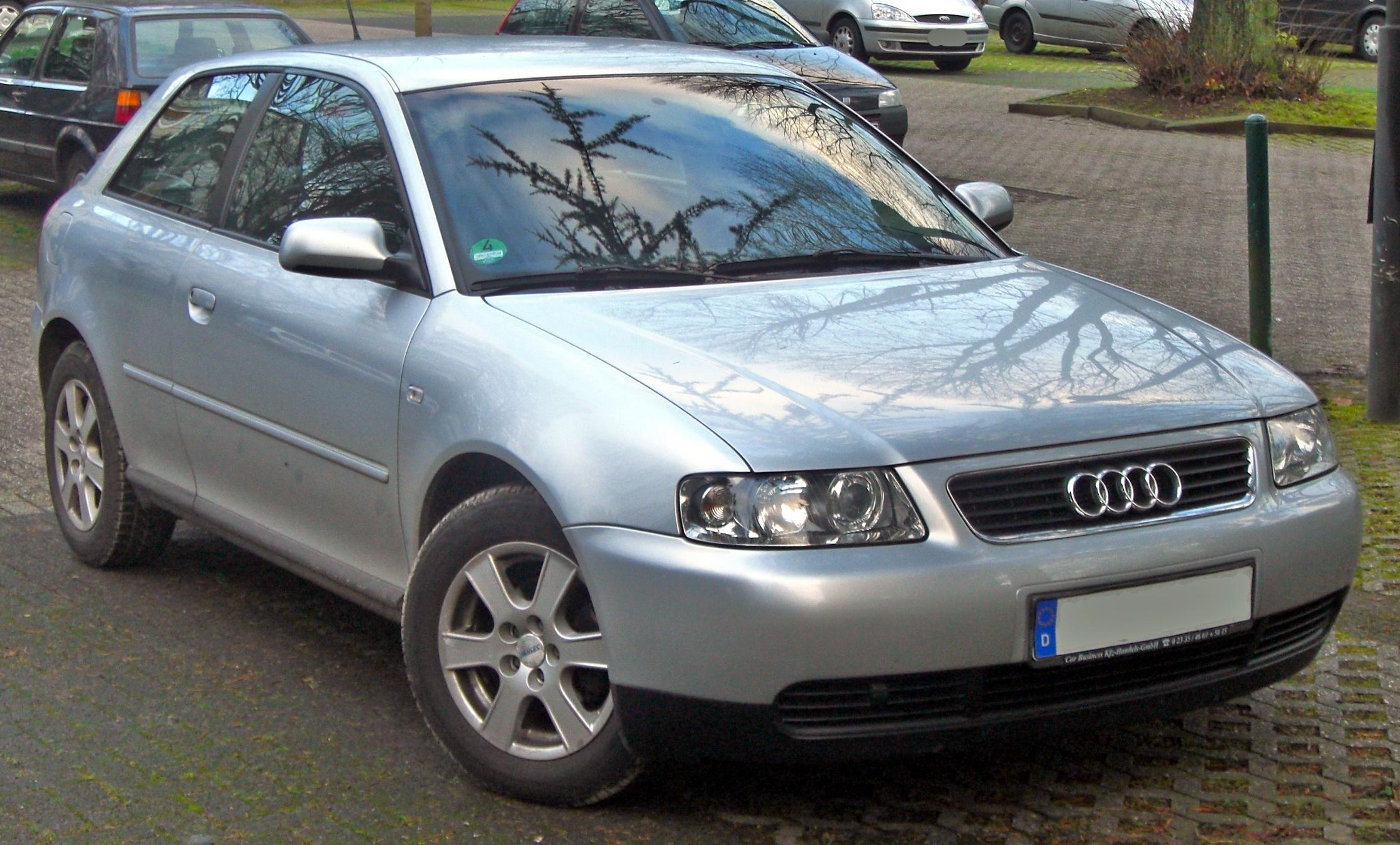 file audi a3 i facelift 2000 2003 front mj jpg wikimedia commons. Black Bedroom Furniture Sets. Home Design Ideas
