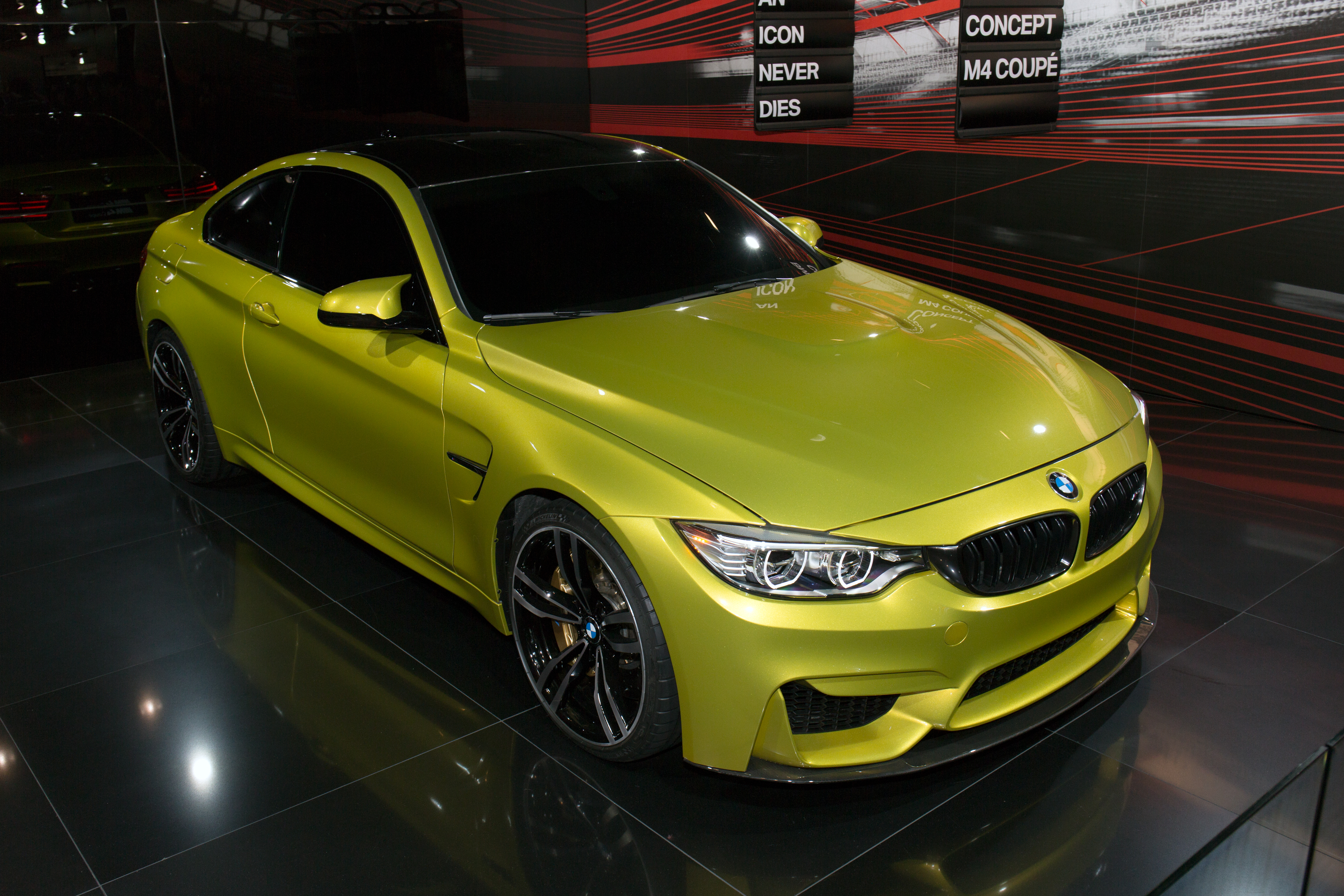 Bmw concept m4 coupe front right 2013 tokyo motor show jpg