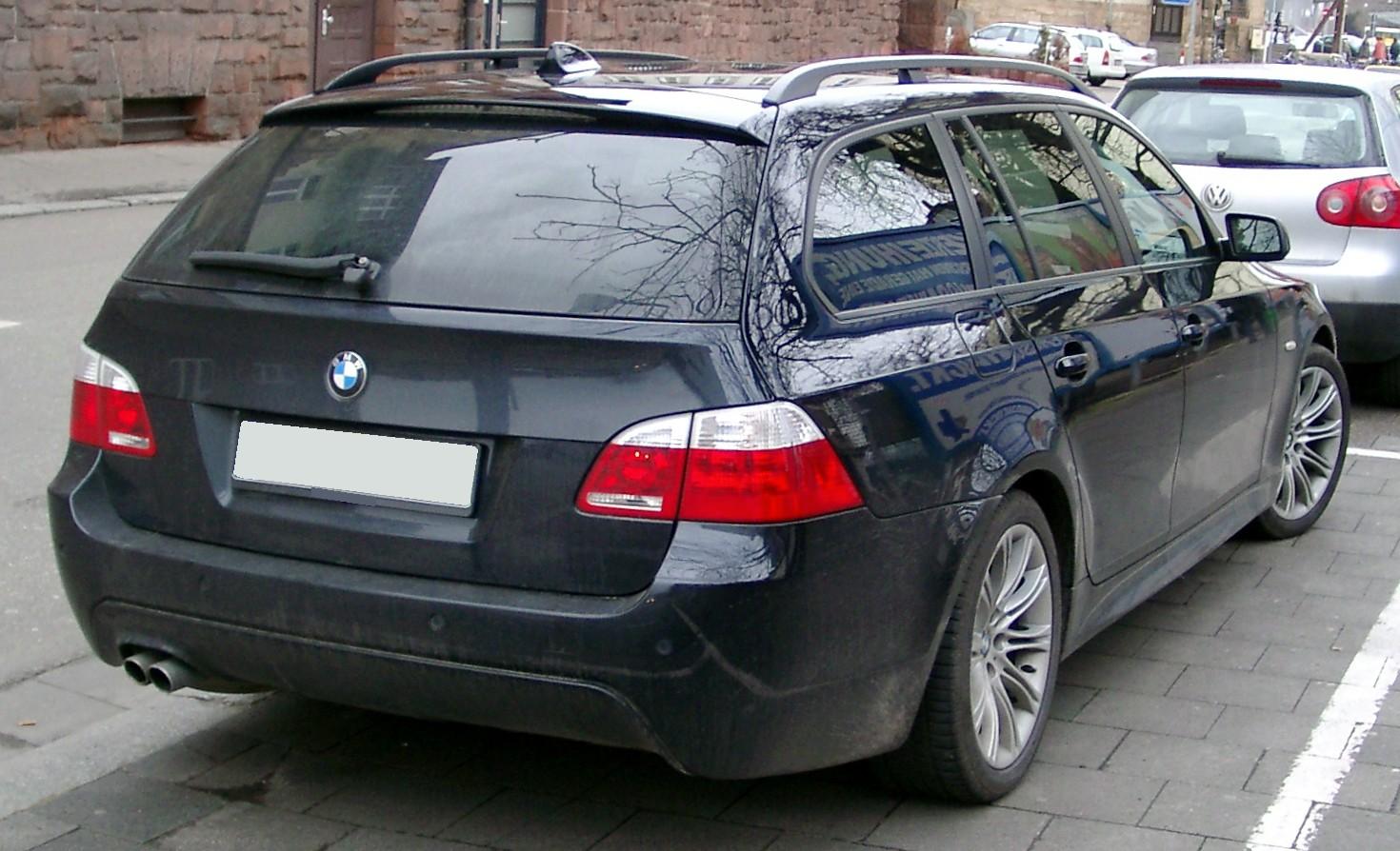 File:BMW E61 rear 20080118.jpg - Wikimedia Commons