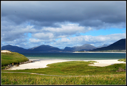 Beaches in the south of the Isle of Harris, Outer Hebrides