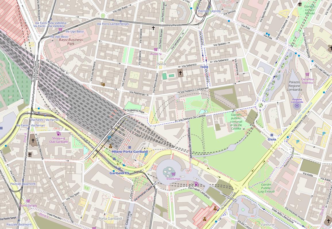 Bosco verticale wikipedia - Milano porta garibaldi passante mappa ...
