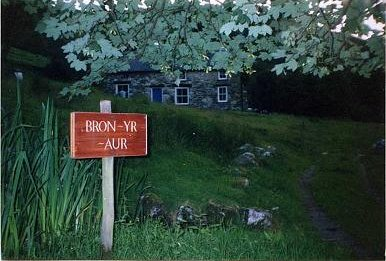 Many songs on Led Zeppelin III were written by Jimmy Page and Robert Plant in Bron-Yr-Aur cottage in Wales. Bron yr aur2.jpg