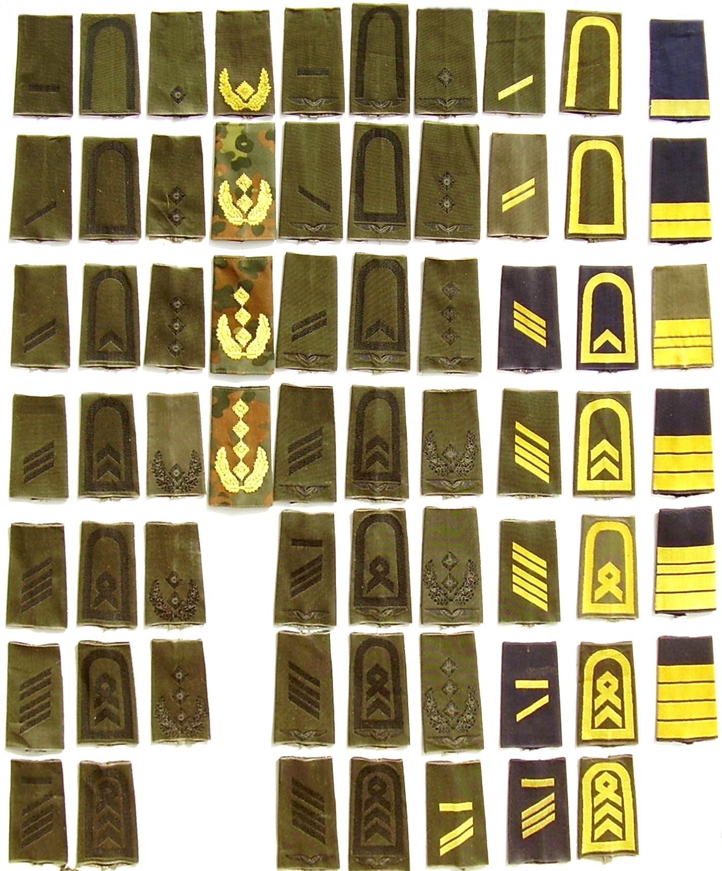 Dienstgradabzeichen der Bundeswehr – Wikipedia | {Arzt bundeswehr 54}