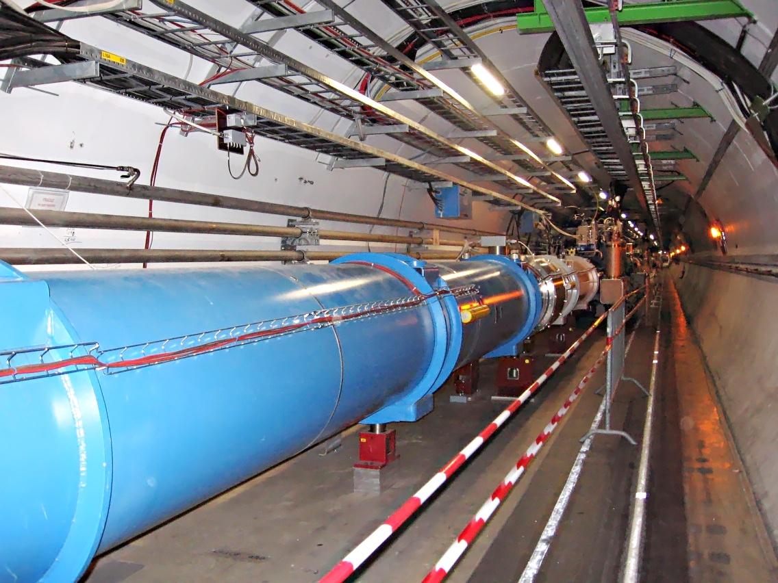 Gran colisionador de Hadrones [ Maquina de díos ]