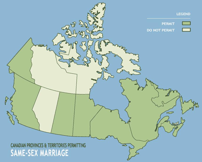 Same sex marriage 2005