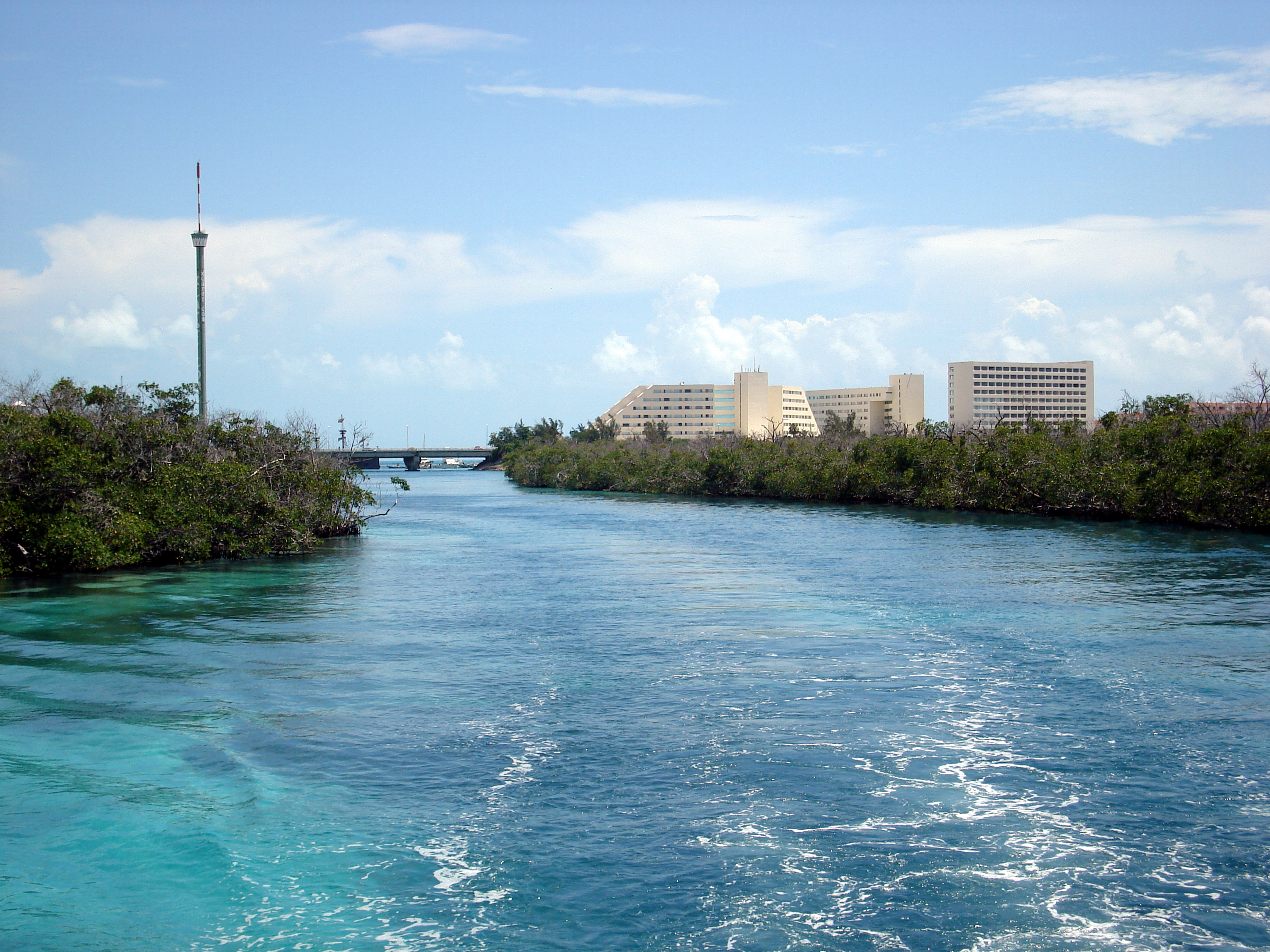file cancun from the lagoon 2657945964 jpg