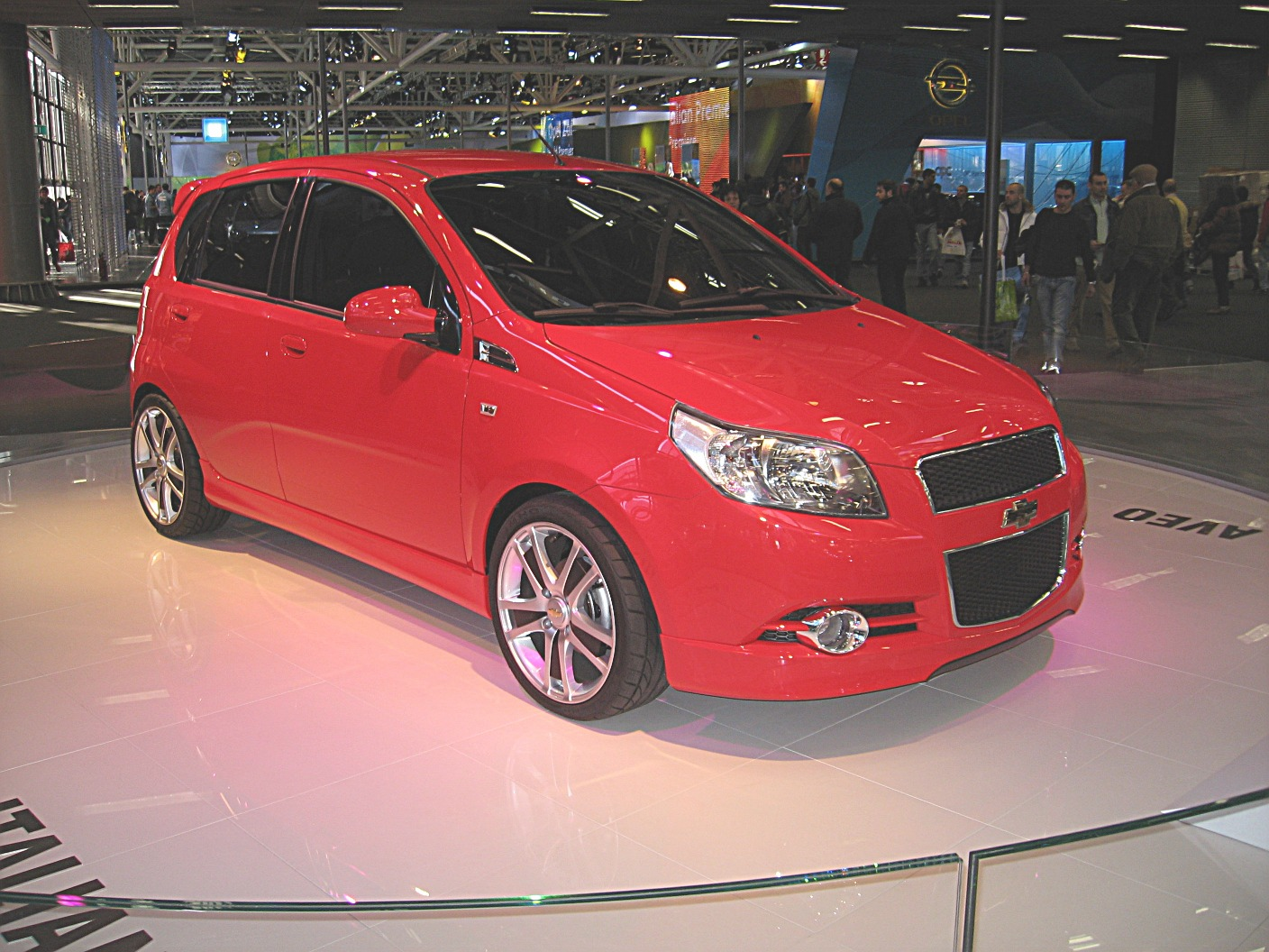 File Chevrolet Aveo My08 Front View Jpg Wikimedia Commons