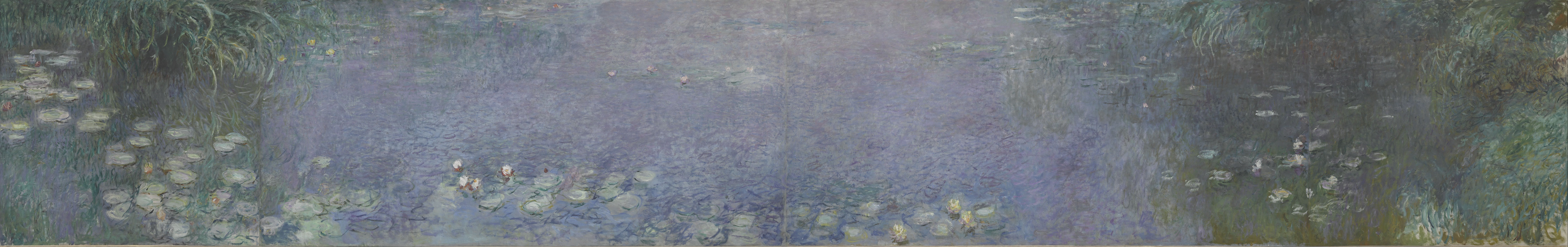 fileclaude monet the water lilies morning google art projectjpg - Monet Coloring Pages Water Lilies