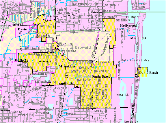Deerfield Beach Fl Zoning Map