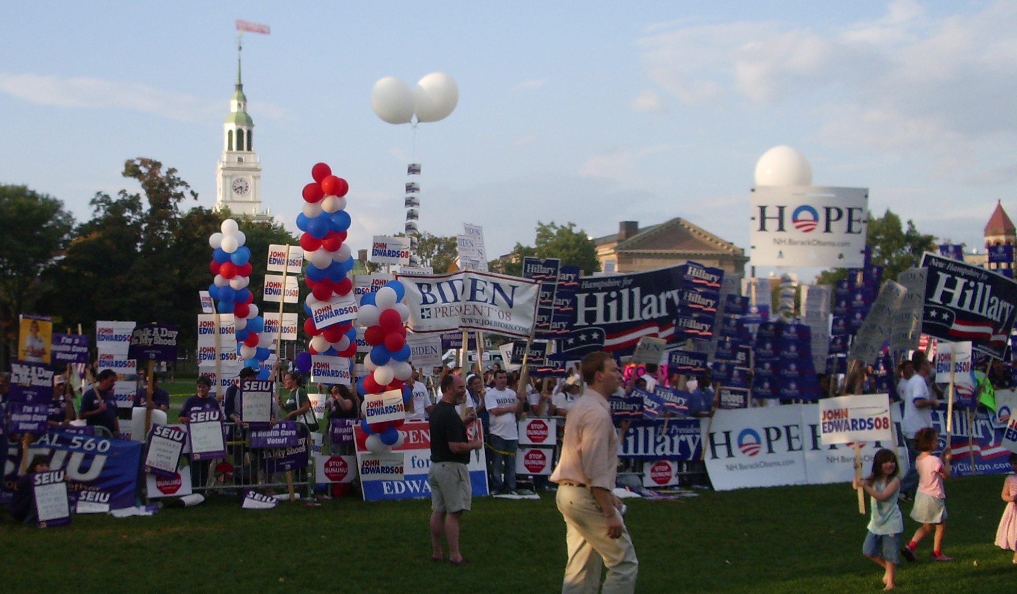Student Political Rally, 2007