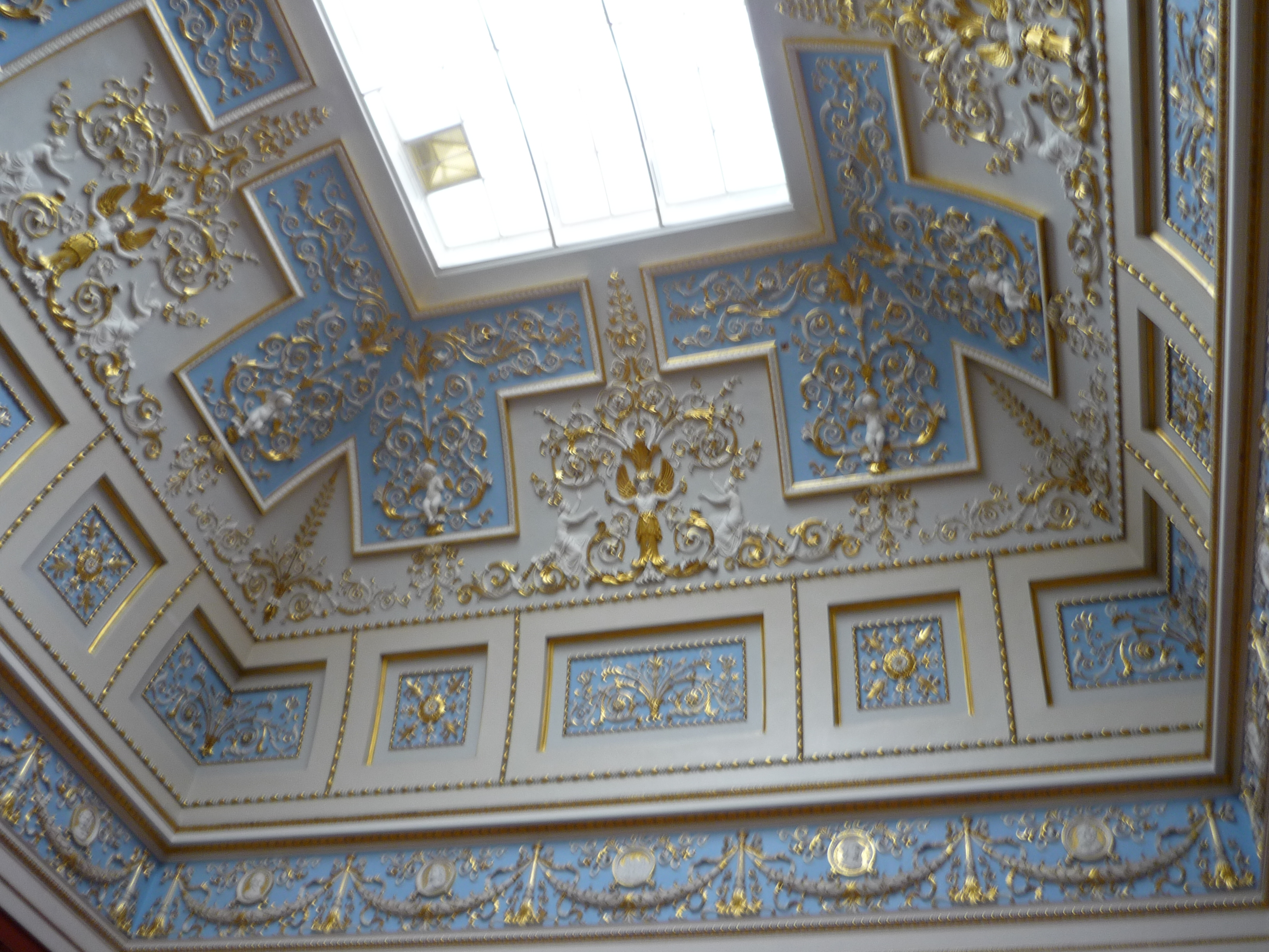 File Decorative Ceiling Winter Palace Jpg Wikimedia Commons