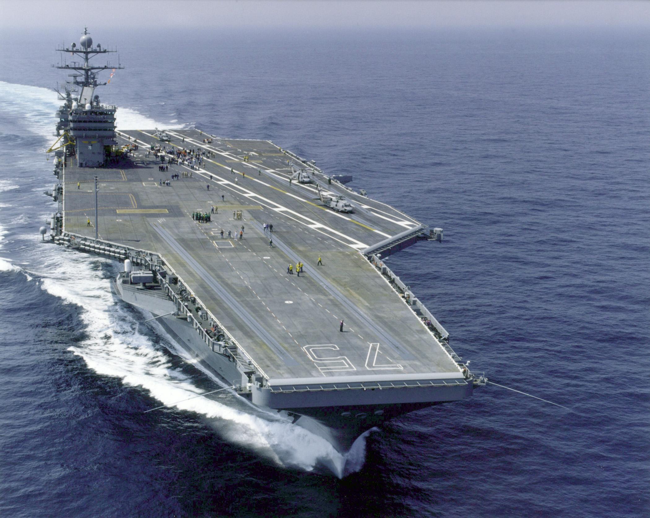 510cb7238f11e USS Harry S. Truman (CVN-75) – Wikipedia, wolna encyklopedia