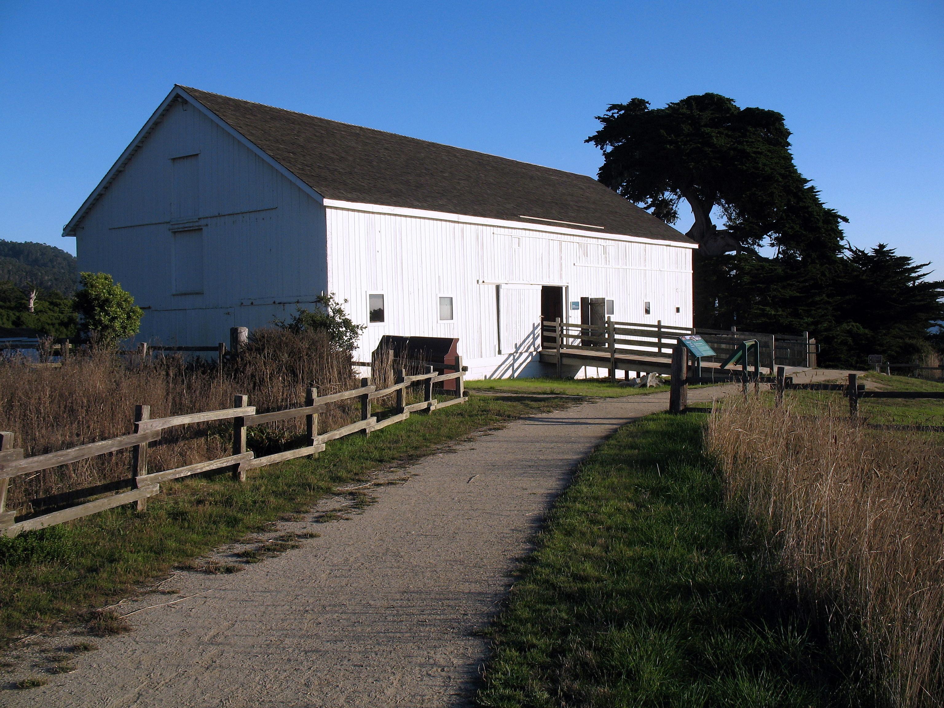 California san mateo county pescadero - File Dickerman Barn Ano Nuevo State Park Cabrillo Highway Pescadero Ca