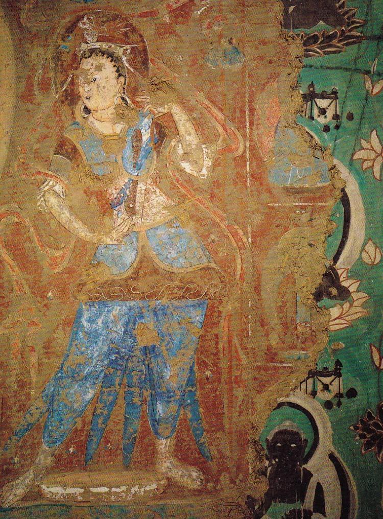 [Изображение: Dunhuang_Mogao_mural_repainted.jpg]
