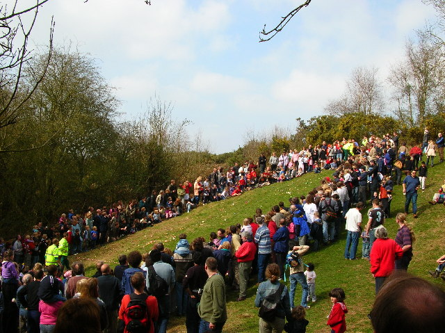 Easter Monday Egg Roll geograph.org.uk 7643