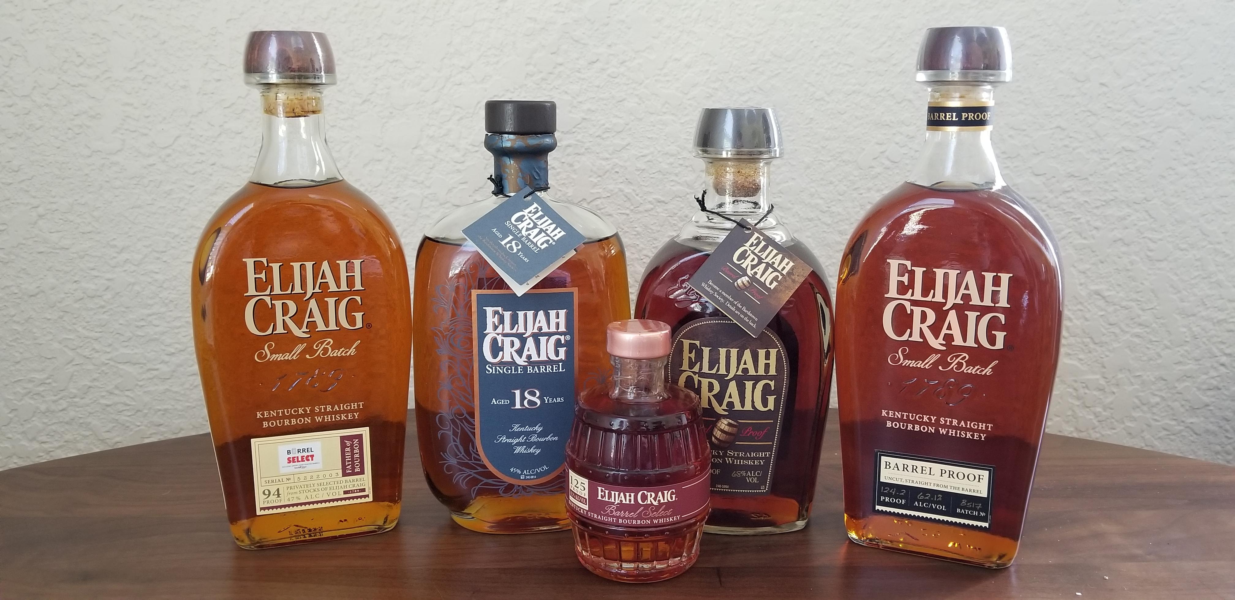 Elijah Craig (bourbon) - Wikipedia