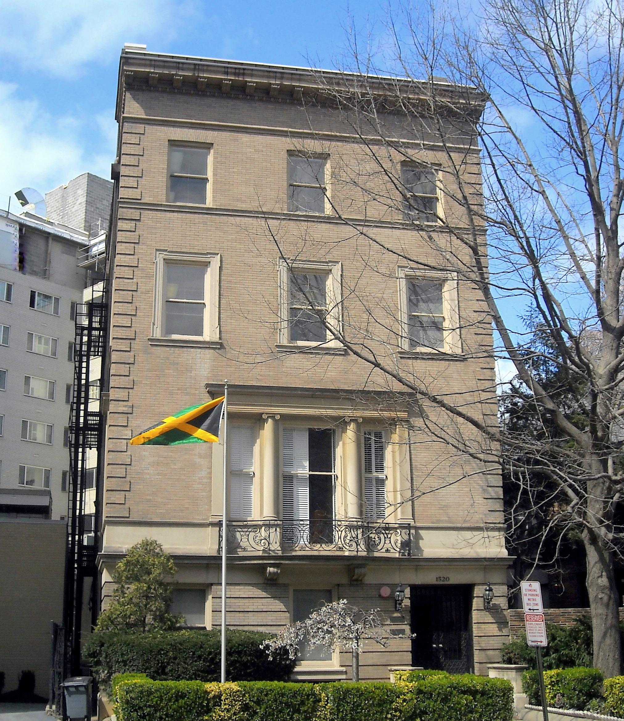 Jamajská ambasáda.