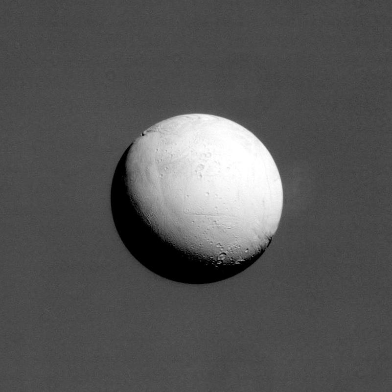 Mond Enceladus