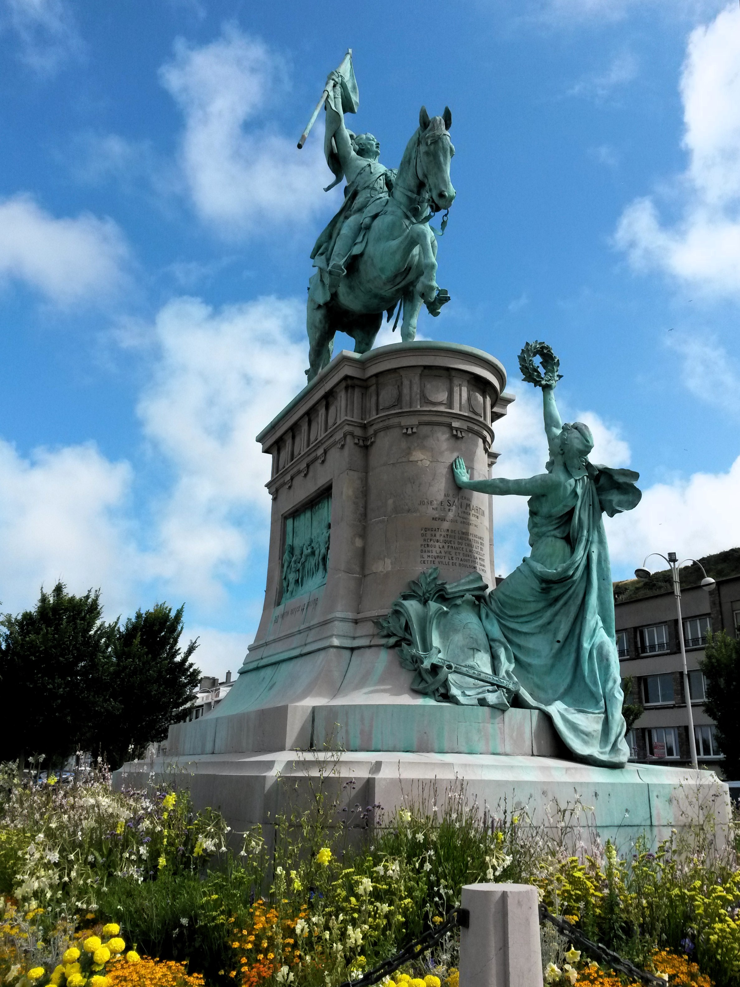File Equestrian Statue Of Jos 233 De San Mart 237 N Boulogne Sur