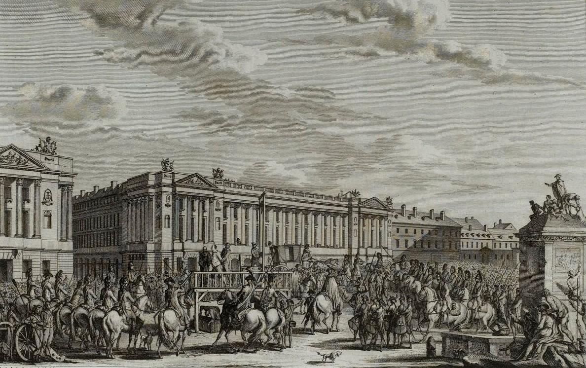 Execution Louis XVI, 21 janvier 1793, Musée de la Révolution française - Vizille.jpg