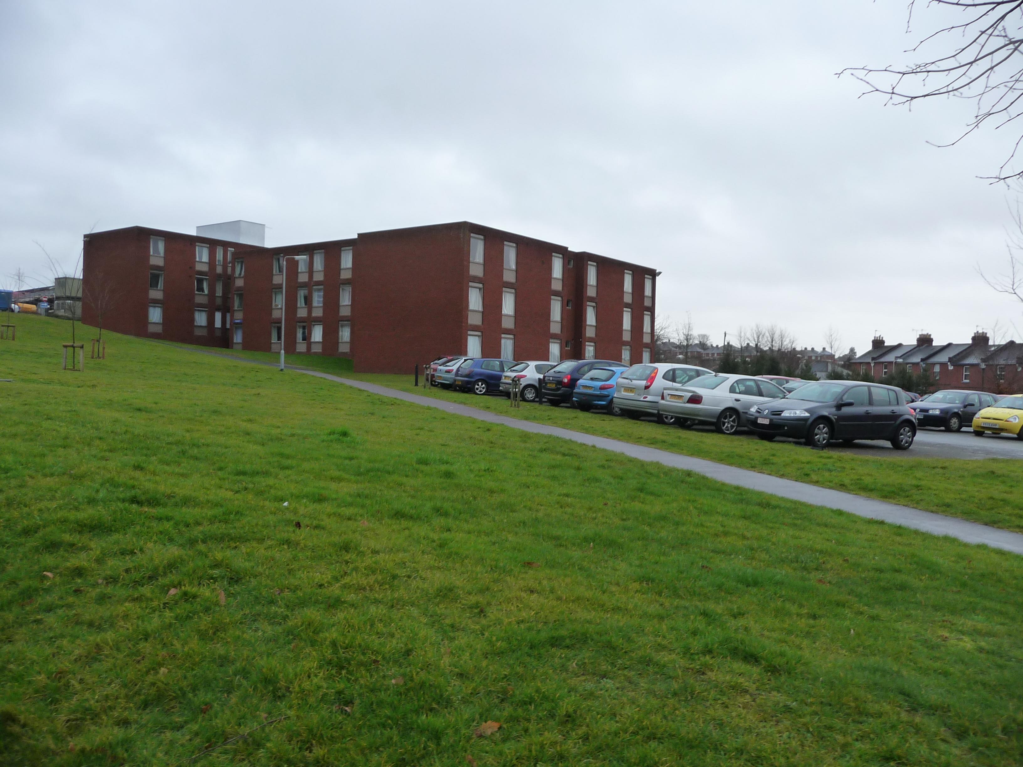 English Building Exeter University