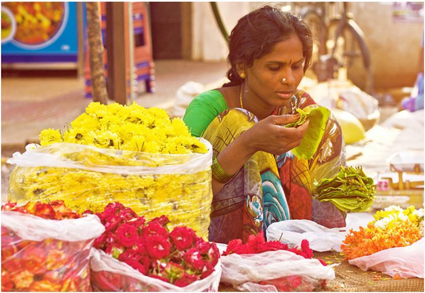 summary of in the bazaars of hyderabad