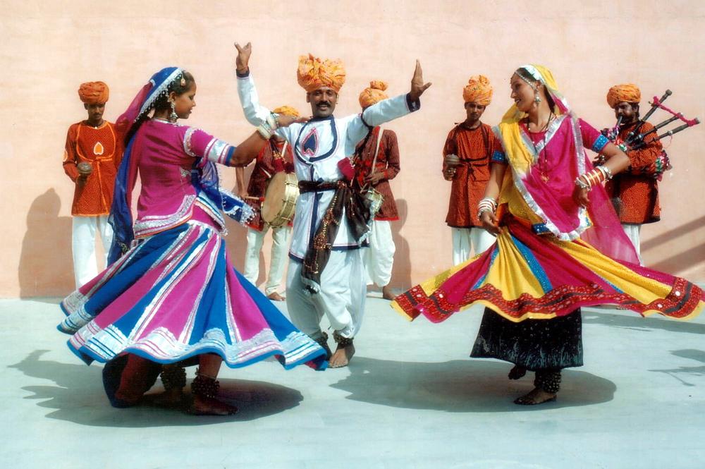 Folk dance of Rajasthan.
