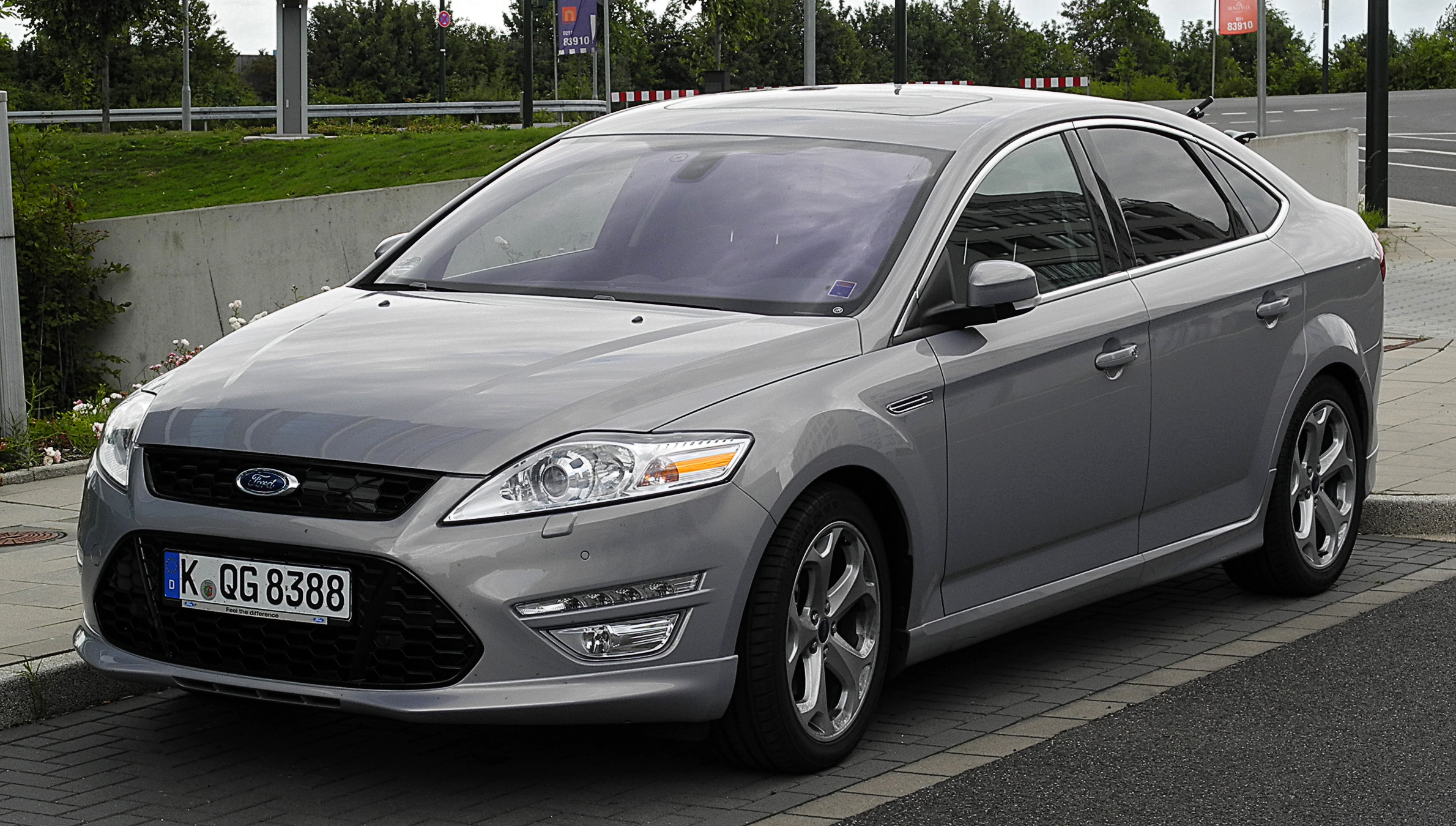file ford mondeo titanium s ba7 facelift frontansicht