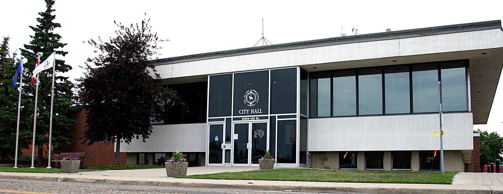 File Fort Saskatchewan City Hall Jpg Wikimedia Commons