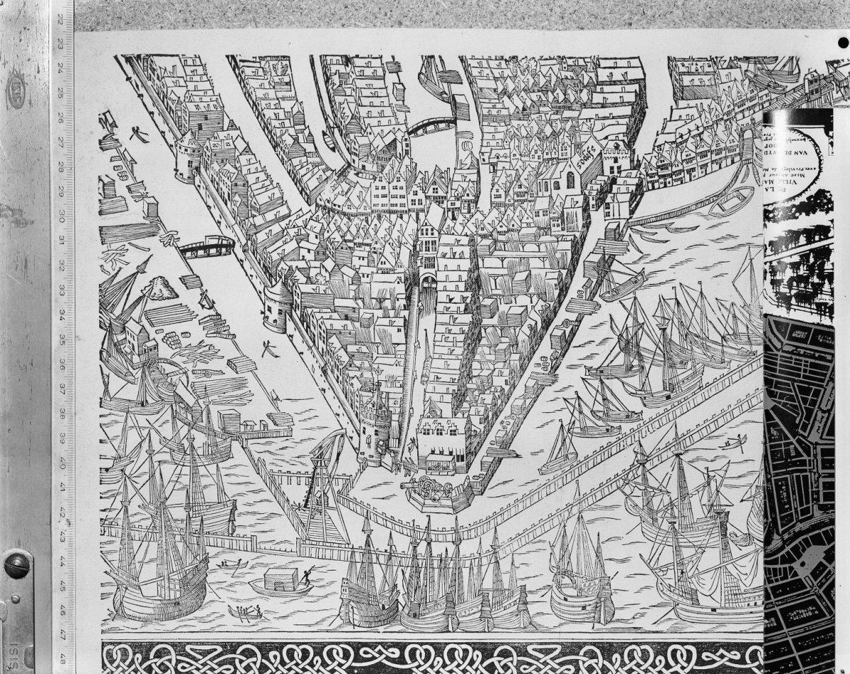 1544 Collectie AAKok tekening  Amsterdam  20010868  RCEjpg