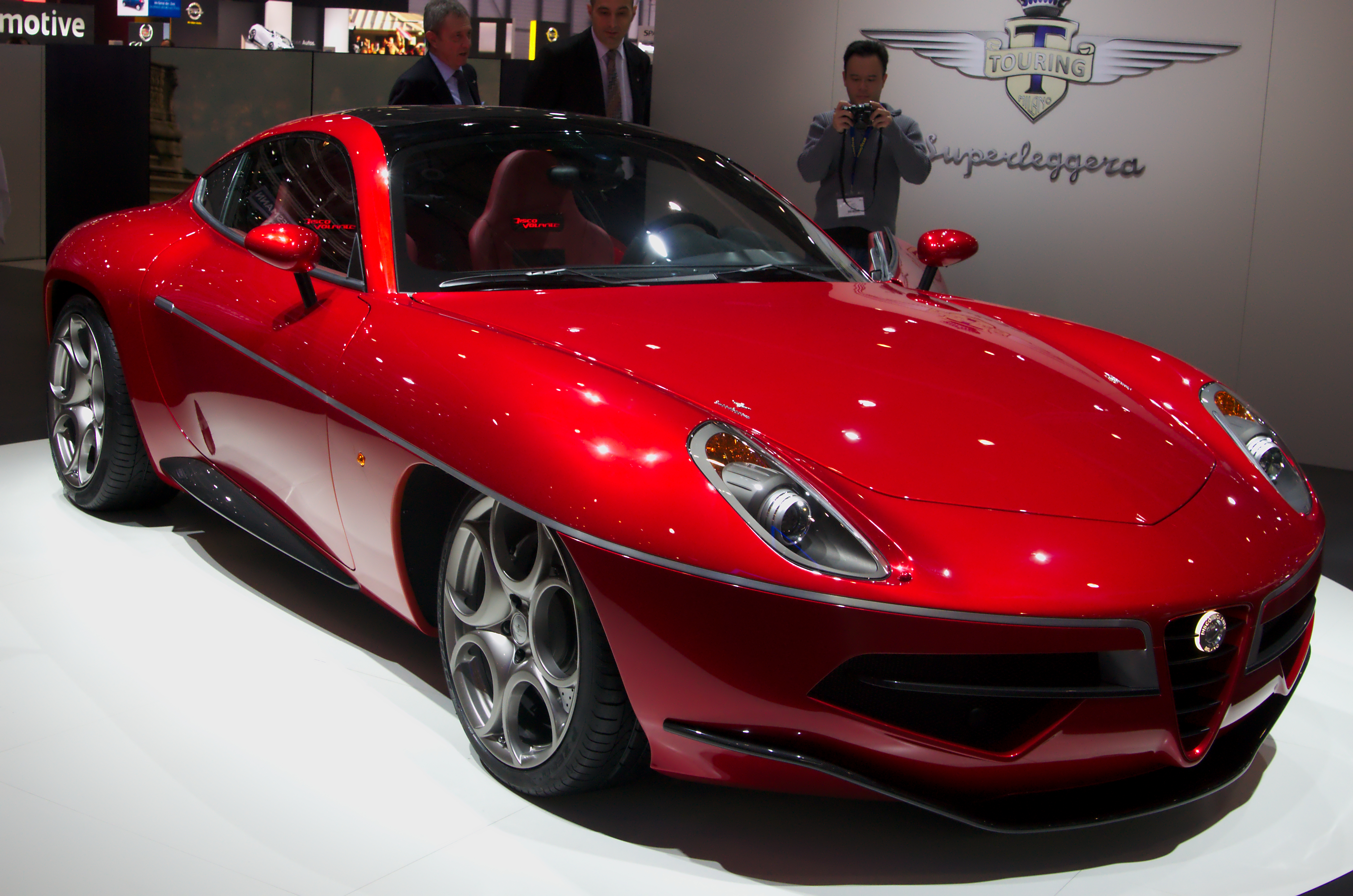 Alfa Romeo Disco Volante By Touring Wikipedia