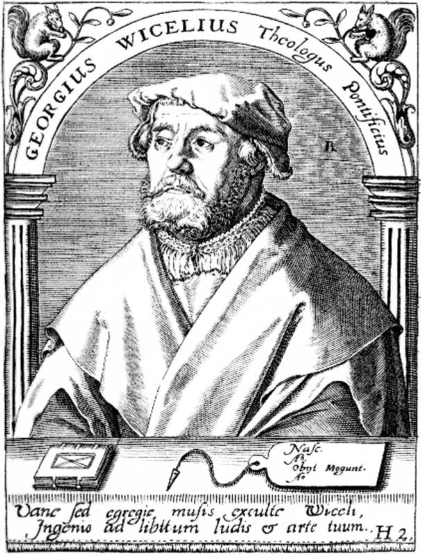Georg Witzel (engraving 16th century)