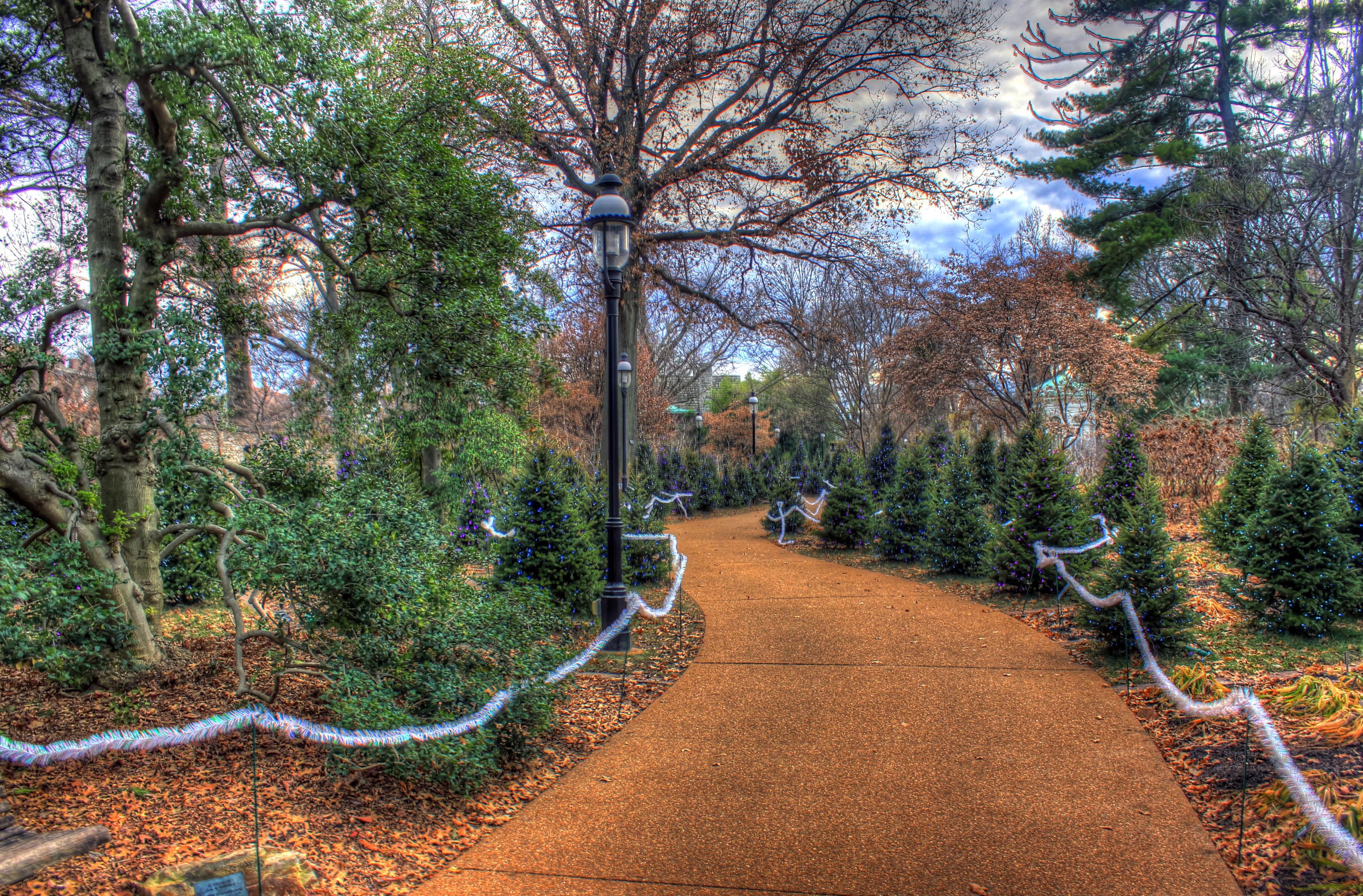 File Gfp St Louis Botanical Gardens Walkway In The Garden Jpg