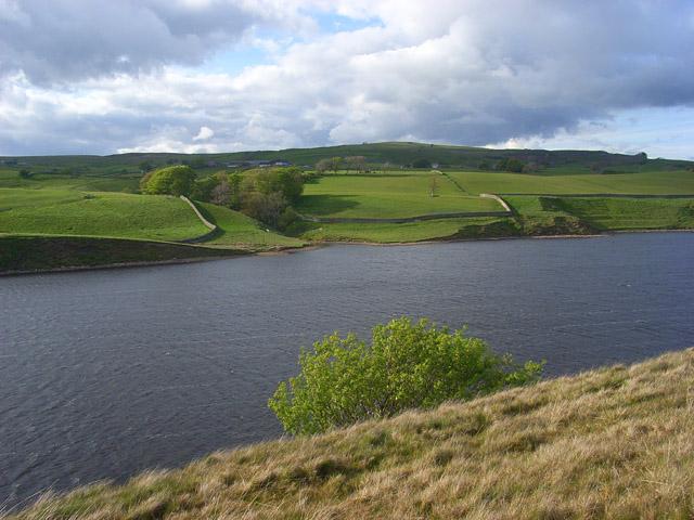 Grassholme Reservoir - geograph.org.uk - 1342192