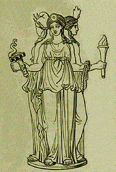 Hecate, the ancient Greek goddess of magic