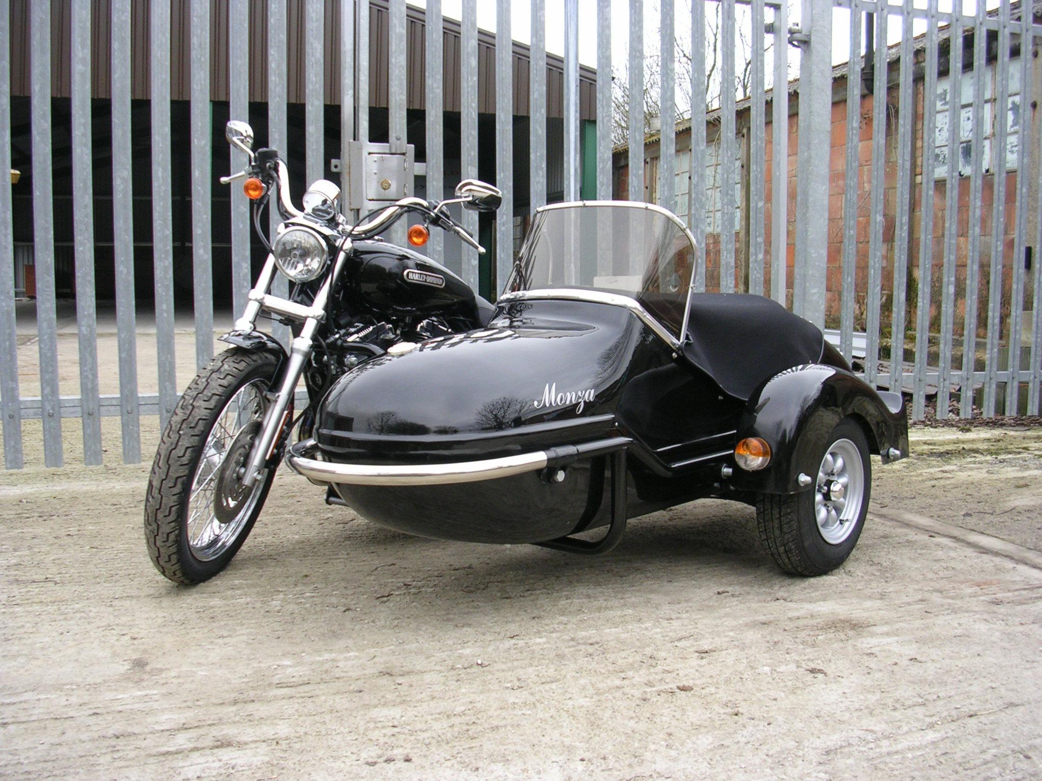 Harley Davidson Sidecar Softail Installation