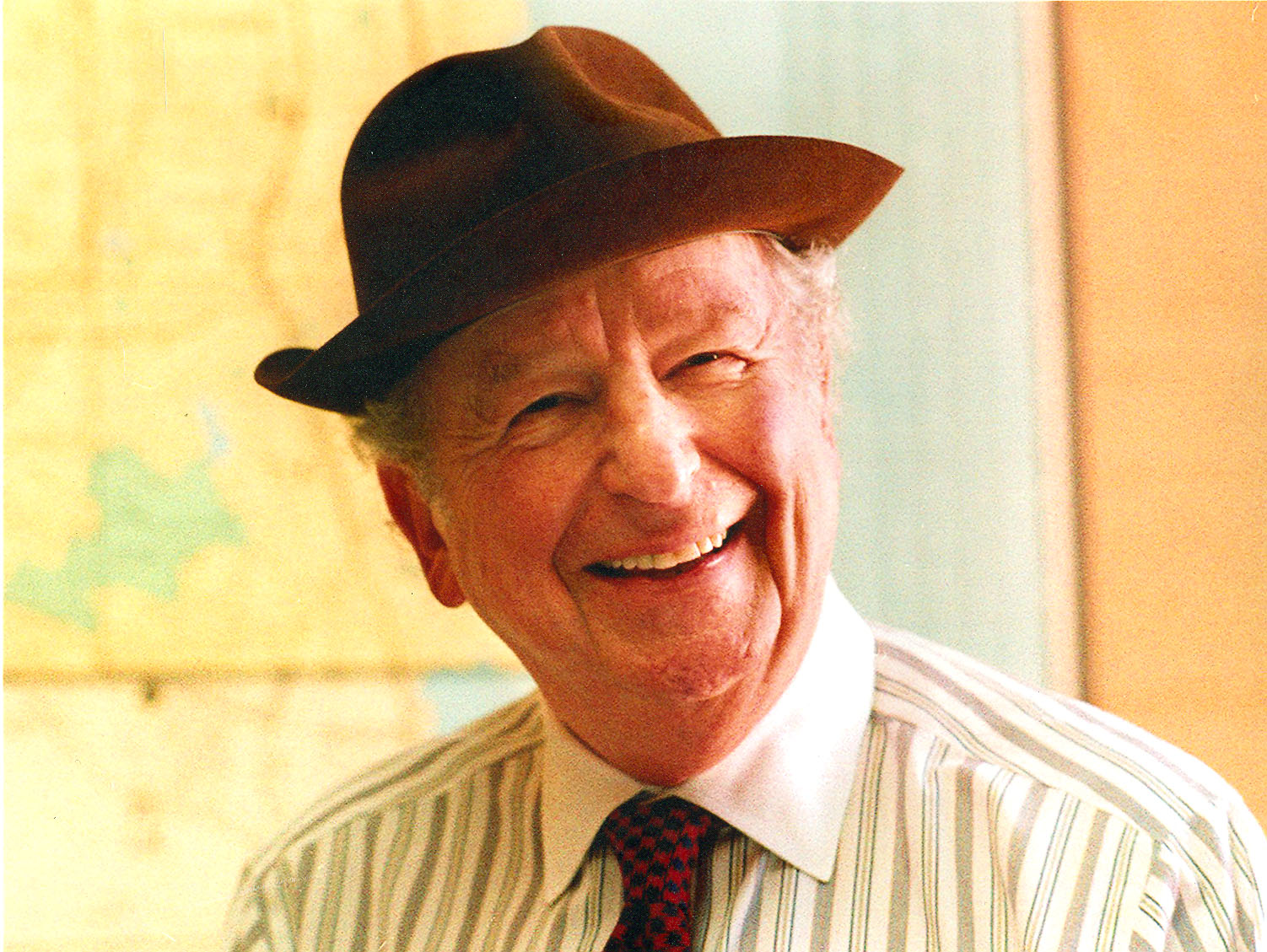 Portrait of Herb Caen