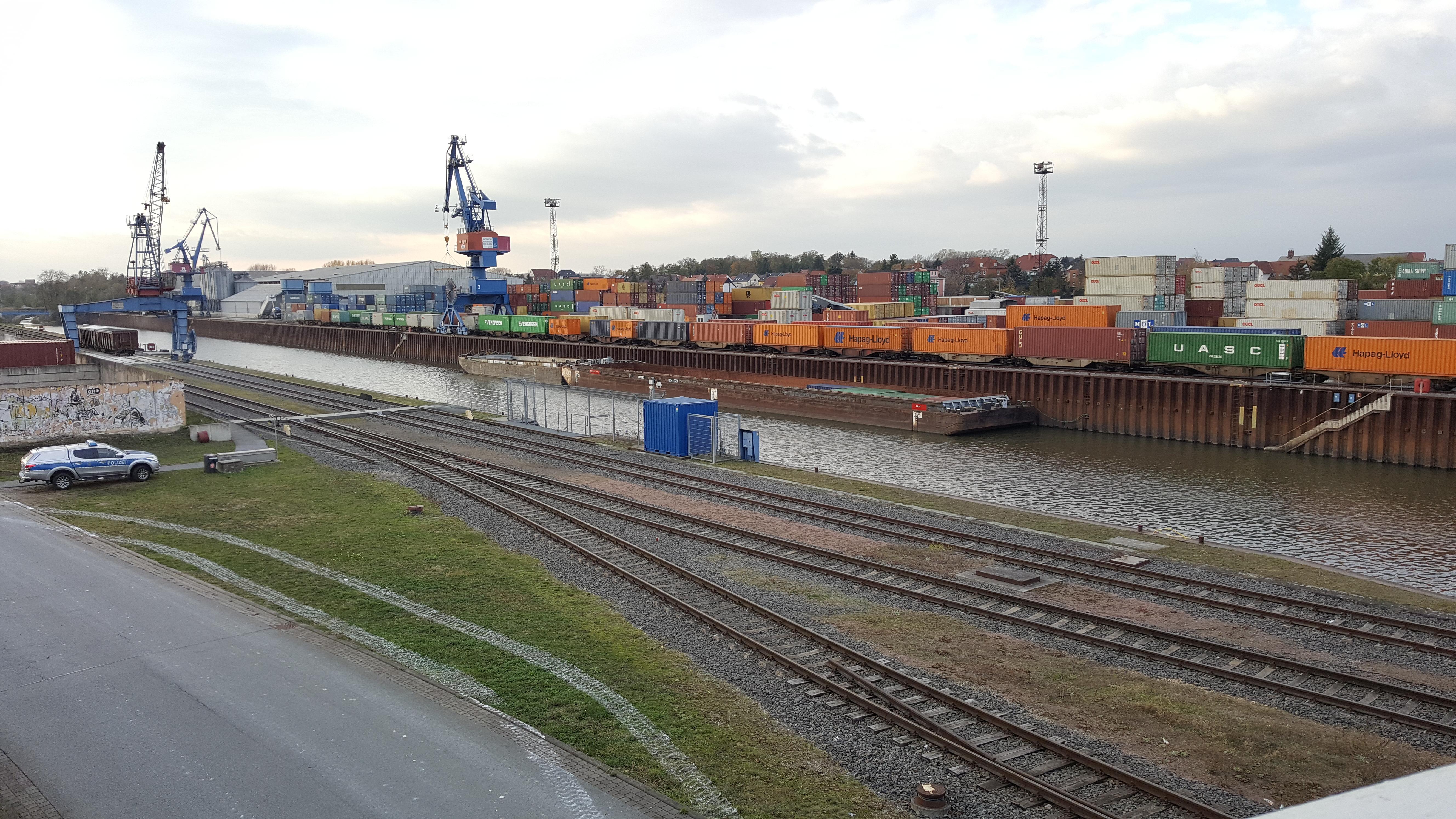 Riesa Hafen N11-8 Neben und Schmalspurbahnen Riesa